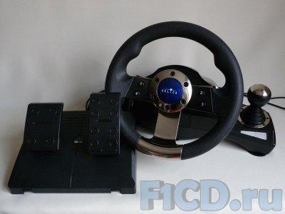 Oklick Sportline W-3 – руль для настоящих гонок!