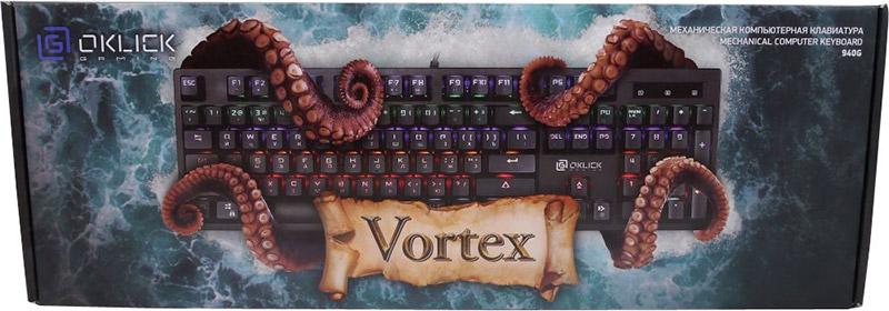 Клавиатура Oklick 940G VORTEX