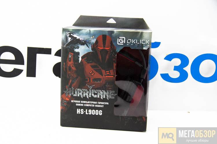 Компьютерная игровая гарнитура Oklick HS-L900G HURRICANE