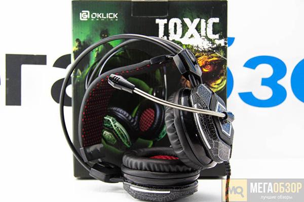 Oklick HS-L500G TOXIC
