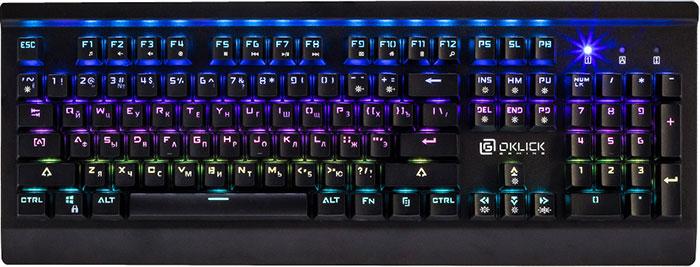 Механическая клавиатура Oklick 950G IRON EDGE
