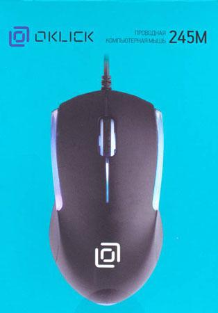 мышь компьютерная Oklick 245M