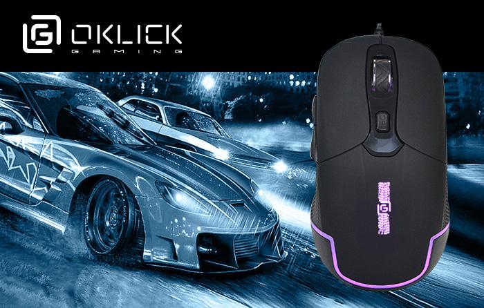 игровая мышь OKLICK 965G Racer