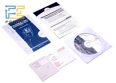 Мини-инструкция по установке и компакт-диск с драйверами