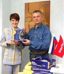 Елена Лисовцева и Михаил Морозов