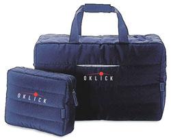 Спортивная сумка с логотипом Oklick