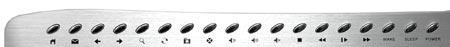 Мультимедийные клавиши в модели Oklick 380 M