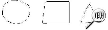 Беспроводная мышь Oklick 820 M. Тест в графическом редакторе