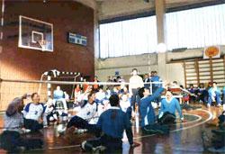Клуб сидячего волейбола Подъем