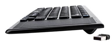 Ультратонкая беспроводная клавиатура Oklick 850ST