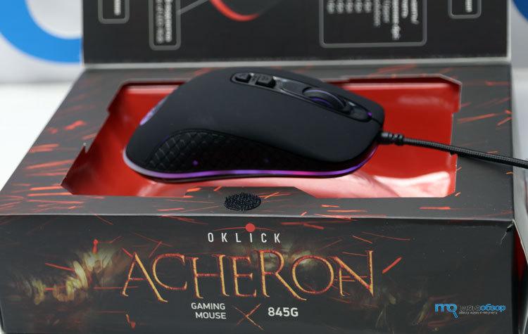 Обзор Oklick 845G ACHERON от MegaObzor.com