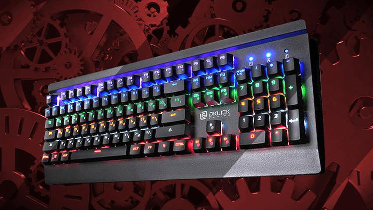 Обзор механической клавиатуры 920G IRON EDGE от ZOBRA.RU