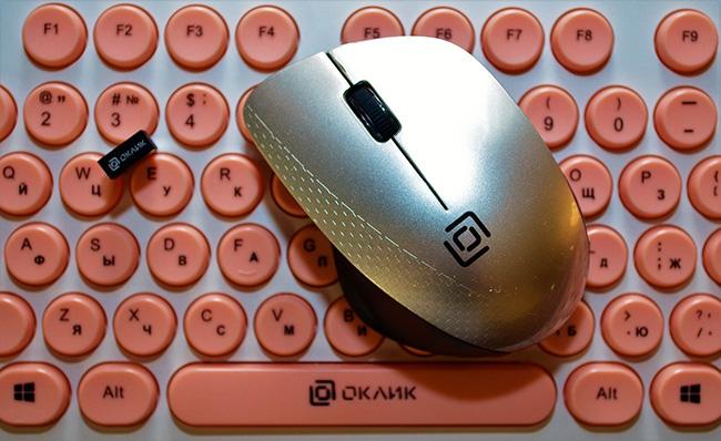 Беспроводная мышь OKLICK 695MW
