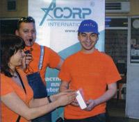 Этот улыбчивый парень ни кто иной, как серебряный призёр турнира Константин Семок