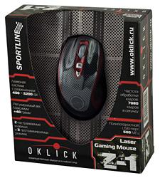 геймерские мышки Oklick Z-1